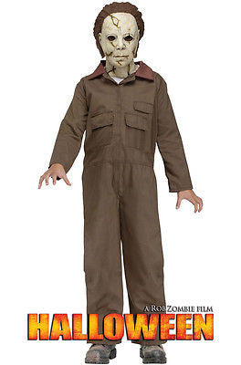 Halloween: Michael Myers w/Mask Costume -Rob Zombie Michael Myers Child Costume