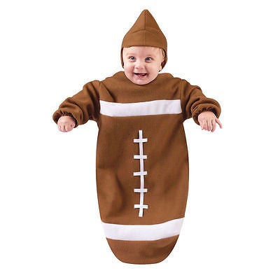 Football Bunting Infant Baby Costume - New - Football Fun - NEW