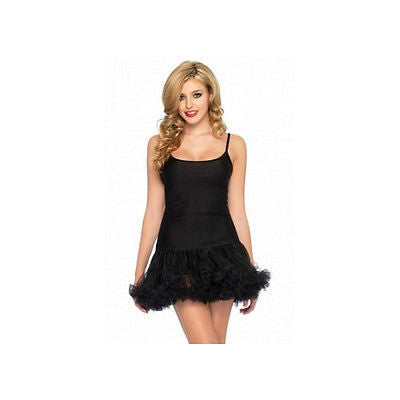 Petticoat Dress Black Leg Avenue