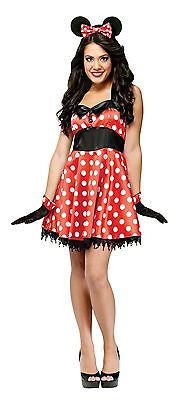Retro Miss Mouse Minnie Mouse Adult Costume  MD/LG