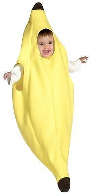 Infant / Toddler Food Banana Bunting Fruit Funny Cute Infant Costume  - 3-9 mons