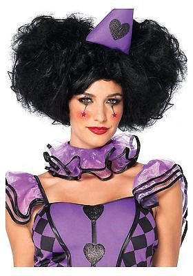 Red Queen Black Bob Wig - Leg Avenue