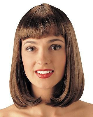 Wig 50's Brown Deluxe Peggy Sue Wig