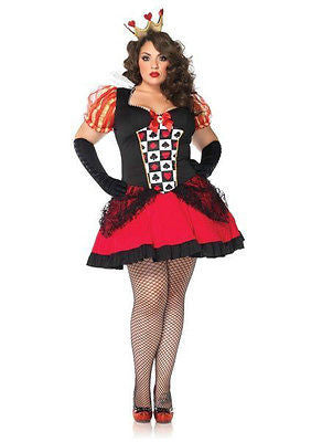 Plus Size Costume Sexy Wicked Queen1X - 2X Alice and Wonderland