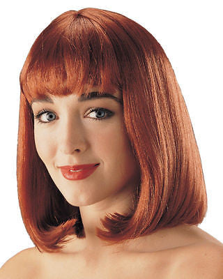 Natural Red Peggy Sue Wig - 50's wig - Franco Costume Collection - NEW