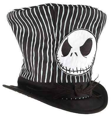 Nightmare Before Christmas - Jack Skellington Top Hat, One Standard Size
