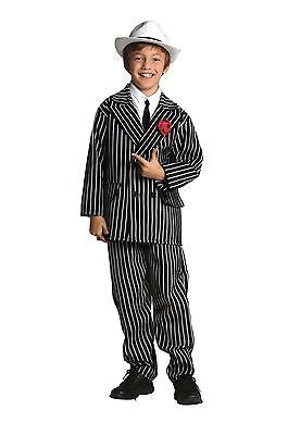 Gangster Child Suit Costume - Gangster Mob Costume - Small 4-6