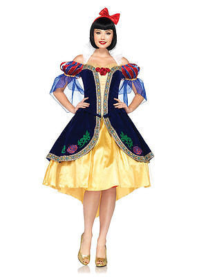 Disney Princess Deluxe Snow White Costume by Leg Avenue  Limited Ed