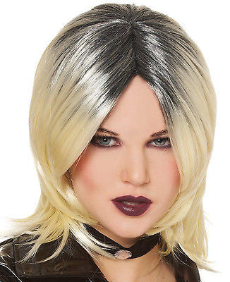 Wig Bride of Chucky Blonde / Black Adult Wig