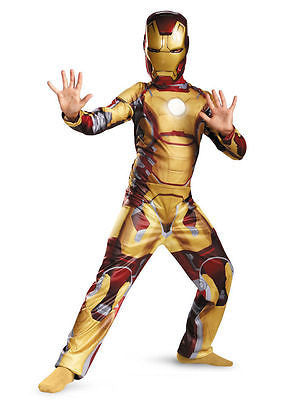 Iron Man Mark 42 Child Classic Costume by Disguise 55642 Medium