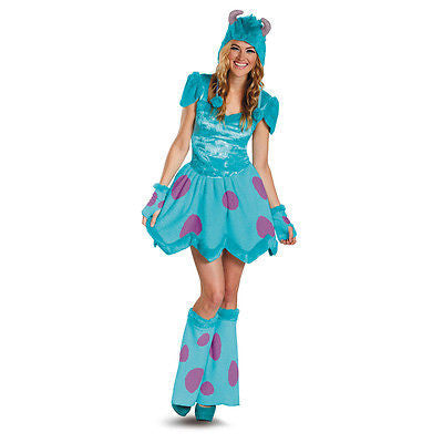 Sassy Sulley Adult Womens Costume Monsters University - Medium - Monsters Inc.