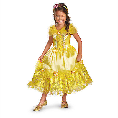 Disney Princess Belle of Beauty & The Beast Sparkle Deluxe Child Costume 59245