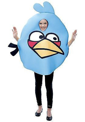 Child's Costume Blue Angry Birds Rovio Video Game