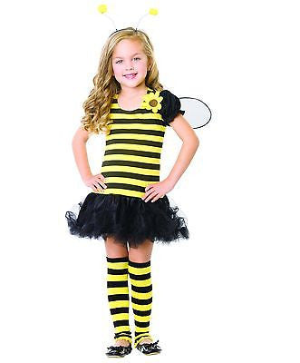 Leg AvenueHoney Bee Childs Costume Size LG 10-12 - NEW