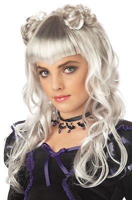 Wig Vampire Grey Moonlight Adult Wig