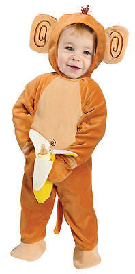 Going Bananas Monkey Baby Costume - Monkey - Infant Costume IN 12-24mo