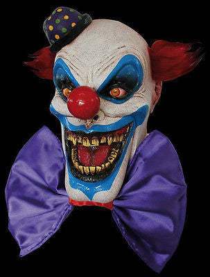 Mask Clown Chompo Evil Clown Horror Latex Overhead Mask