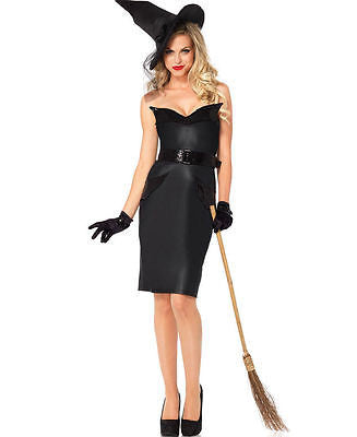 Sexy Vintage Witch Halloween Costume - Leg Avenue 85239 - Pencil Dress