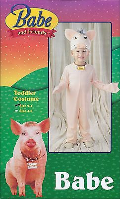Movie Babe Toddler Pig Costume - Pig Costume Size 2-4