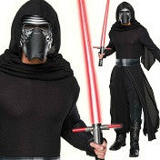 Men's Costume Kylo Ren Star Wars The Force Awakens Deluxe Costume