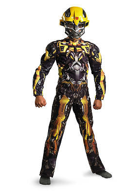 Transformers Child Boy Bumblebee Classic Muscle Costume Disguise 28512 - Medium