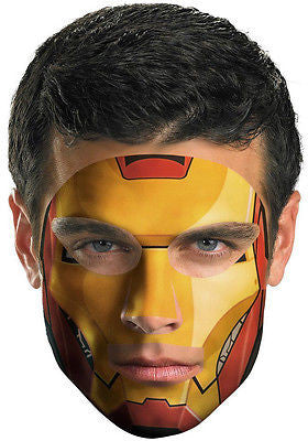 Make Up Temporary Tattoo Iron Man 2 Face Tattoo - As seen on Shark Tank