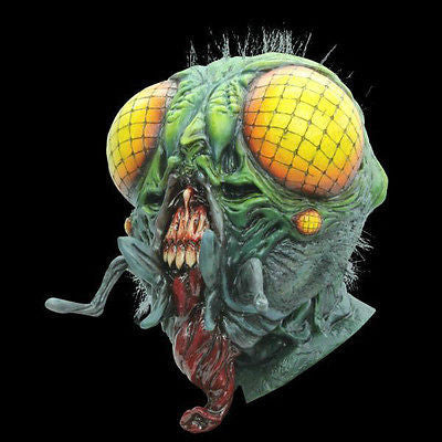The Fly Overhead Full Latex Scary Mask - NEW Scary Halloween Mask