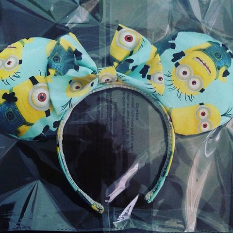 Minion Mickey Inspired Handmade Ears