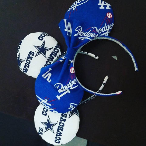 Cowboys Mickey Inspired Handmade Ears