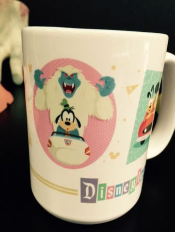 Disneyland Tea or Coffee Cup Coffee Mug Disney Parks - New Just Released