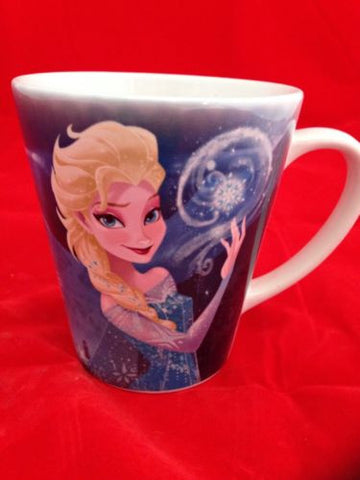 Disney Theme Parks Princess Frozen Elsa / Anna Coffee Cup Mug (NEW)