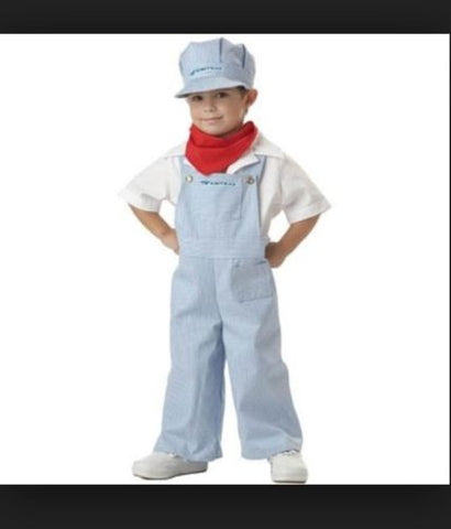 Amtrak Train Engineer Toddler Costume - Train Conductor Costume