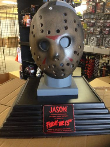 Friday 13 Deluxe Collectors Fiberglass Mask Replica - Great Christmas Gift