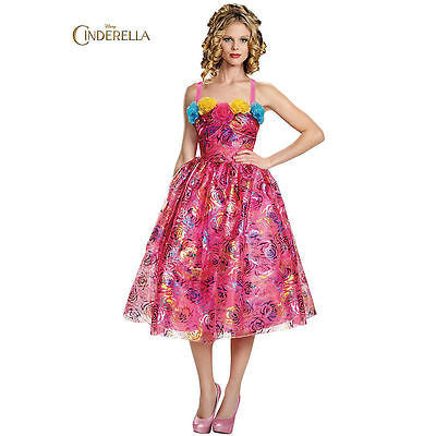Adult Disney's Cinderella Movie Anastasia Deluxe Costume
