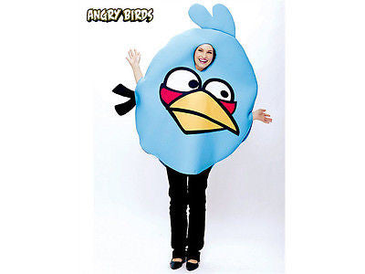 Angry Birds Blue Bird Adult Costume - One Size