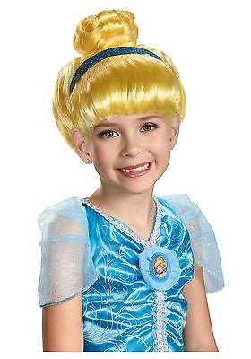 Classic Cinderella Child Wig - Princess Cinderella Costume Wig - NEW