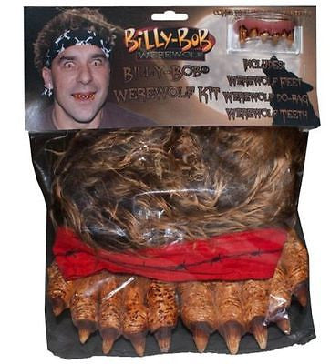 Billy Bob Instant Werewolf Costume Kit Adult  - Werewolf Accessory