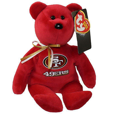 TY NFL San Francisco 49ers  - 8 in.  - The Beanie Babies Collection 2015