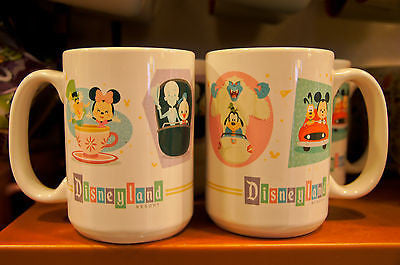 Disney Theme Parks Disneyland Attractions Mug Coffee Cup Mug (NEW)