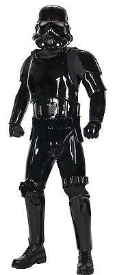 Black Shadow Trooper Supreme Adult Costume Star Wars Jumpsuit - NIB Pick Up Only