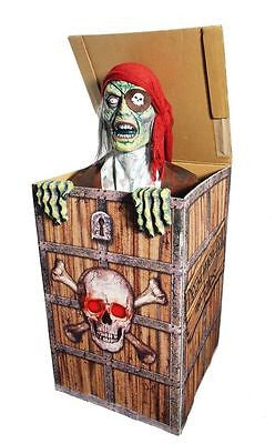 Pirate in the Box Deluxe Animated Prop - Pick Up Only