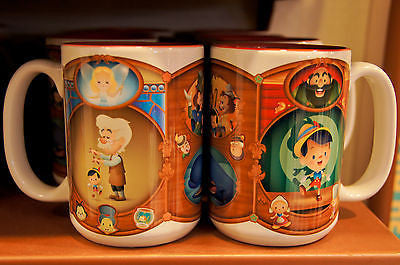 Disney Theme Parks Pinocchio Mug Coffee Cup Mug (NEW)