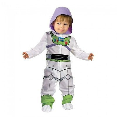 Disguise Baby Boy's Toy Story and Beyond Buzz Classic Costume White IN 0-6 mo