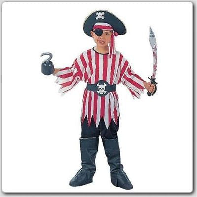 Pirate Boy Costume Size Child- Pirate Costume - RG Costume - Large
