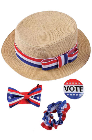 Brand New Presidential Political Voter Campaign Kit Costume Accessory