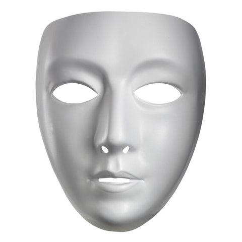 Blank Female White Costume Face Jabbawockeez Disguise Mask