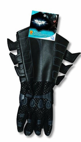 Batman The Dark Knight Rises Child Boys Gauntlets Gloves Costume Accessory