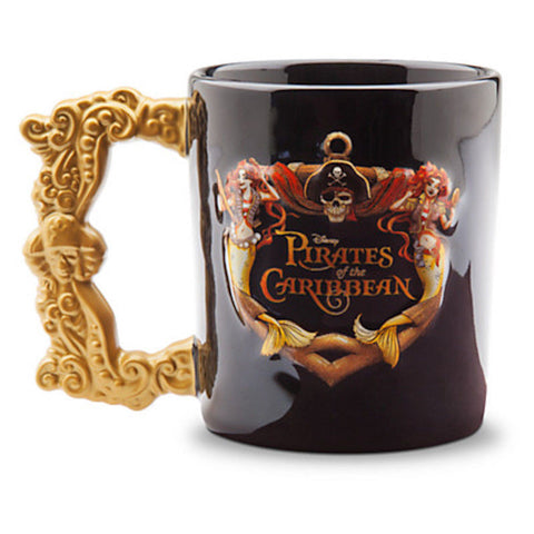 Disney Parks Coffee Cup / Mug Pirates of the Caribbean Logo - Pirate Mug