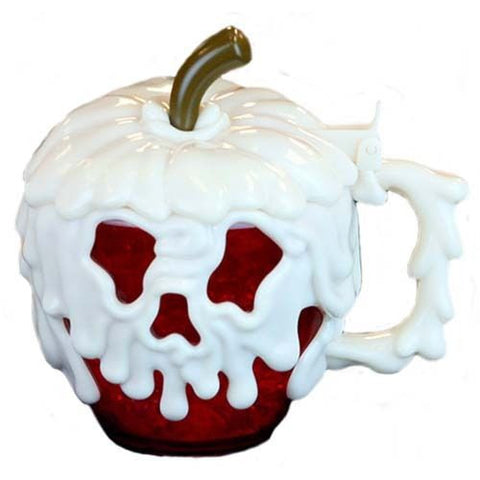 Disneyland Halloween Poison Apple Mug Cup Limited Edition 2016 Glow in the Dark