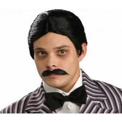Wig Gomez Addams Wig And Moustache